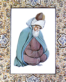 Rumi Painting